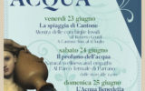 """PARRANO, """"Festa dell'Acqua"""" dal 23 al 25 giugno (TR)"""