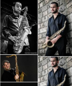 CLAUDIO JR DE ROSA QUARTET GROOVIN' UP Visioninmusica