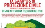 IX Campus Cisom – 23-30 giugno Penna in Teverina ANCHE IO SONO PROTEZIONE CIVILE