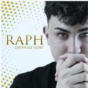 """RAPH in radio con il singolo """"Difficile così"""" (K1 Records)"""
