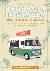Barbagia in Piazza, domenica 30 settembre, Piazza Marconi, Ollolai