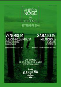 'Umbria Noise by the lake', il 14 e 15 settembre 2018 alla Darsena di Castiglione del Lago