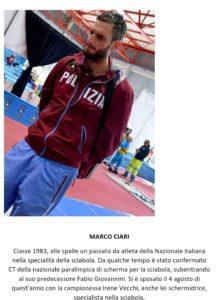 I CT dei Campionati Europei Assoluti di Scherma Paralimpica 2018