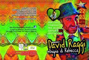 """1° MEMORIAL""""DAVID RAGGI nel SOGNO DI REBECCA """" Il 22 ed il 23 Settembre 2018"""