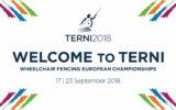 Campionati Europei Assoluti di Scherma Paralimpica a Terni dal 17 al 23 settembre 2018  Radio Incontro Radio Ufficiale della manifestazione
