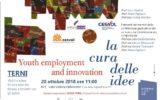 Umbria libri 2018 Terni  Il Cesvol e il suo impegno per la cura delle idee