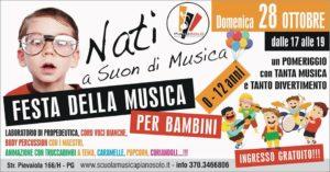 'Festa della musica' dedicata ai bambini