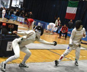 Silvia Isidori a sinistra