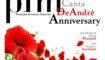 """PFM canta De André Anniversary"" al teatro Lyrick di Assisi in cartellone per Tourné"