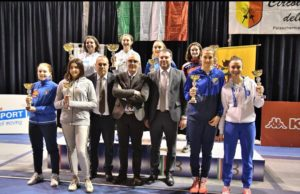Fine settimana intenso per i giovani atleti del Circolo Scherma Terni in Italia e all'estero