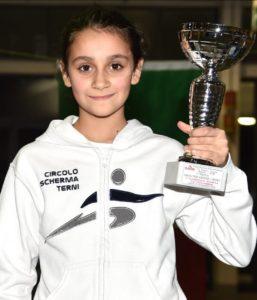 Fine settimana intenso per il CSTR: Flavia Astolfi vince il Gran Prix 'Giovanissime' di Sciabola