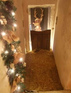 Babbo Natale e gli elfi  alla Rocca di Gualdo Cattaneo