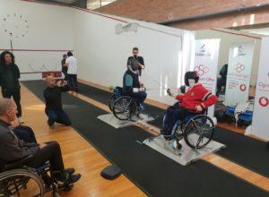 Scherma On per tutte le disabilità: il divertimento in pedana è assicurato Primo open day al Circolo Scherma Terni