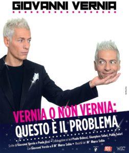 Al teatro Lyrick arriva il nuovo spettacolo di Giovanni Vernia