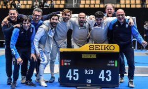 Coppa del Mondo, a Tokyo Alessio Foconi guida l'Italia alla medaglia d'oro