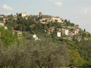 Calvi dell'Umbria il gruppo sbandieratori Carbium si gemella con gli Bandierai di Firenze