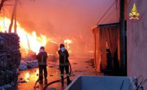 Incendio di Balanzano: primi risultati analitici di Arpa Umbria