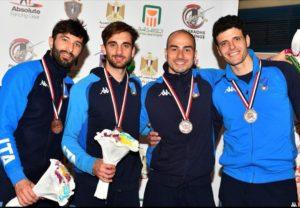 Alessio Foconi bronzo a squadre in Coppa del Mondo a Il Cairo