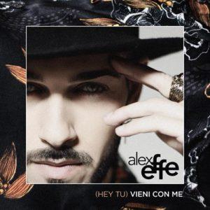"""Alex Effe in radio con il secondo singolo """"(Hey Tu) Vieni Con Me"""" pubblicato da Joseba Publishing."""