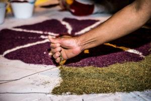 Cinquantaquattro anni di infiorata, il Terziere Casalino dà vita alla sua tradizione più bella a Città della Pieve