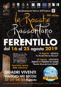 Valnerina in festa con Le Rocche Raccontano di Ferentillo