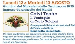 'IL VENTAGLIO' DI GOLDONI CALVI FESTIVAL 2019