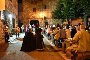 È l'ora del banchetto medievale a Narni per la festa della Rivincita