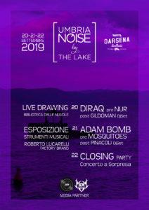'Umbria Noise by the lake', il 20-21-22 settembre 2019 alla Darsena di Castiglione del Lago