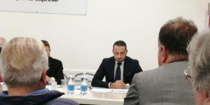 """""""Stato dell'economia dell'area orvietana e dell'Umbria.  """"Riflessioni e commenti sulla manovra economico-finanziaria del governo italiano"""" ."""