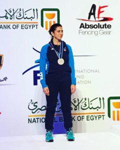 Elena Benucci argento ai Mondiali Master di Scherma
