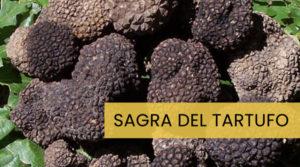 Sagra del Tartufo, a Canterano (RM) i profumi del bosco nel piatto -