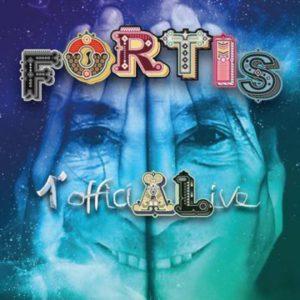 FORTIS 1° OfficiALive  il cofanetto celebrativo dei 40 anni di carriera di  ALBERTO FORTIS