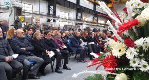 Celebrazione prenatalizia all'Acciaieria di Terni