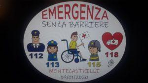 """""""Emergenza senza barriere"""":"""