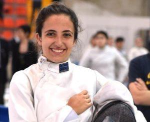 Circolo Scherma Terni, Elena Ferracuti terza nel circuito europeo Under 23 di spada
