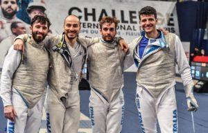Pronto riscatto per Alessio Foconi nella gara a squadre di Coppa del Mondo di fioretto maschile a Parigi.