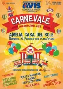 Carnevale..ogni donazione vale!