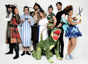 """Debutto nazionale per """"Che disastro di Peter Pan"""" dalla commedia originale di J.M.Barrie"""