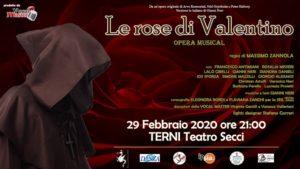 LE ROSE DI VALENTINO  A TERNI IL MUSICAL