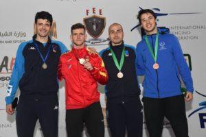 Alessio Foconi è terzo in Coppa del Mondo
