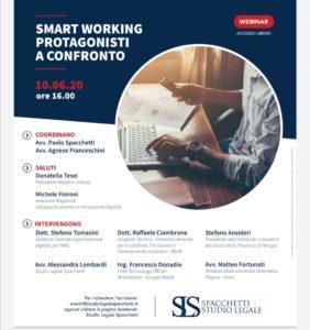 """Smart working – Protagonisti a confronto""."
