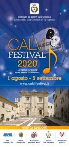 CALVI FESTIVAL 2020:  TORNA L'ESTATE CULTURALE CALVESE