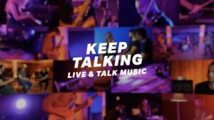 """Keep Talking """"Live & Talk Music"""""""