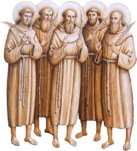 Celebrazione a conclusione dell'VIII centenario del martirio dei Protomartiri Francescani in Marocco (1220 – 2020)