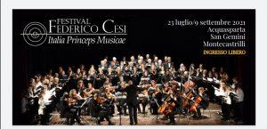 "FESTIVAL FEDERICO CESI - ""ITALIA PRINCEPS MUSICAE"""